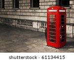 Classic Red British Telephone...