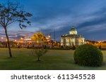 ananta samakhom throne hall... | Shutterstock . vector #611345528