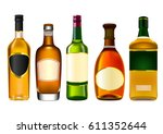 Colorful Alcohol Bottle Set...