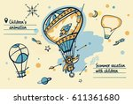 freehand drawn concept image... | Shutterstock .eps vector #611361680