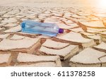 Bottle Of Water Lies On The...