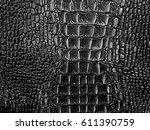 gray and black shades crocodile ... | Shutterstock . vector #611390759