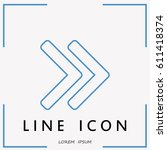 line icon  arrow