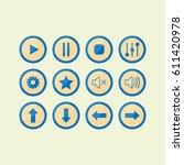 aqua buttons for game