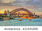 Sydney Harbour Bridge At Sunse...