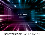 vector of modern abstract... | Shutterstock .eps vector #611446148