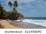 Coast With Rock At Punta...