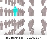people. 3d | Shutterstock . vector #61148197