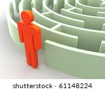 three dimensional graphic image.... | Shutterstock . vector #61148224