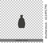 bottle icon | Shutterstock .eps vector #611491790