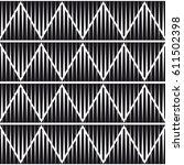 vector seamless pattern. modern ... | Shutterstock .eps vector #611502398