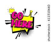 lettering go here. comics book... | Shutterstock .eps vector #611510660