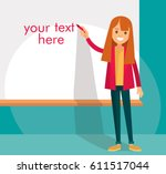 presentation   Shutterstock .eps vector #611517044