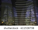 skyscrapers   high rise office... | Shutterstock . vector #611528738