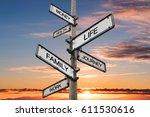 Life Balance Choices Signpost ...