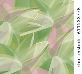 abstract fresh floral... | Shutterstock .eps vector #611533778