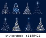 background with christmas tree  ...
