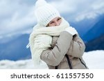 portrait of smiling beautiful...   Shutterstock . vector #611557550