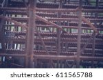 iron weld wire mesh for use... | Shutterstock . vector #611565788