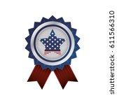 united states patriotic emblem | Shutterstock .eps vector #611566310