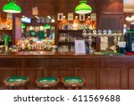 the retro style of counter bar... | Shutterstock . vector #611569688