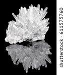 Pure Quartz Crystal Cluster On...
