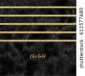 gold marble modern vector design | Shutterstock .eps vector #611577680