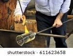 italy   venice   murano  ... | Shutterstock . vector #611623658
