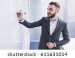 daily meeting. | Shutterstock . vector #611631014