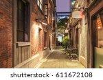 shanghai xintiandi and shikumen ... | Shutterstock . vector #611672108