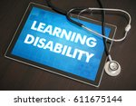 learning disability ... | Shutterstock . vector #611675144