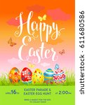 Easter Pink Poster Template