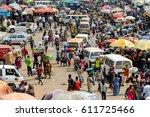 kumasi  ghana   jan 15  2017 ... | Shutterstock . vector #611725466