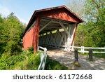Everitt Road Red Covered Bridge