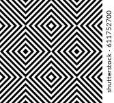 vector seamless pattern.... | Shutterstock .eps vector #611752700