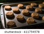 baking cookies | Shutterstock . vector #611754578