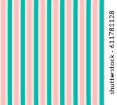 seamless lines pattern. vector...   Shutterstock .eps vector #611781128