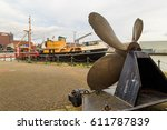 grimsby  england   march 14 ... | Shutterstock . vector #611787839