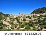 beautiful village of...   Shutterstock . vector #611832608