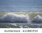 crashing wave | Shutterstock . vector #611881910