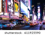 abstract blurry background of... | Shutterstock . vector #611925590