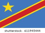 flag of the democratic | Shutterstock .eps vector #611945444