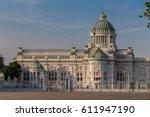 ananta samakhom throne hall... | Shutterstock . vector #611947190