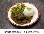 seco  typical peruvian dish | Shutterstock . vector #611966948