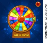 vector wheel of fortune for ui...