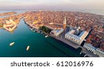 venice with saint mark's square | Shutterstock . vector #612016976