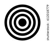 vector target icon | Shutterstock .eps vector #612018779