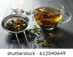 Brewed Delicious Herbal Tea On...