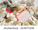 save money  save up  money | Shutterstock . vector #612071240