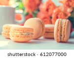 orange mango or citrus...   Shutterstock . vector #612077000